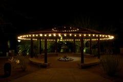 garden patio Στοκ Εικόνες