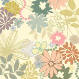 Garden pattern Stock Images