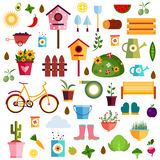 Garden pattern nature Illustration Stock Photo