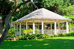 Garden pavilion Stock Photography