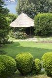 Garden pavilion Stock Images