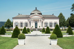 Garden pavilion of Melk abbey Stock Photo