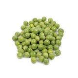Garden peas. Garden peas (raw/fresh) isolated on white Royalty Free Stock Images