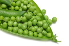Garden Peas Royalty Free Stock Photography