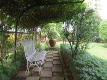 Garden at Pelni Hospital Stock Image