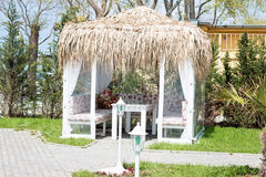 Garden Pergola Stock Photography
