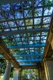 Garden Pergola Stock Photo