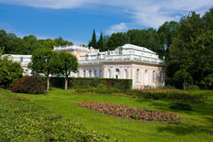 Garden of Peterhof Stock Images