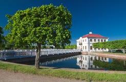 Garden in Peterhof Royalty Free Stock Image