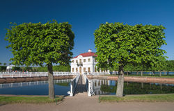Garden in Peterhof Royalty Free Stock Images