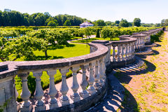 Garden in Peterhof Palace in Saint Petersburg, Russia Stock Images