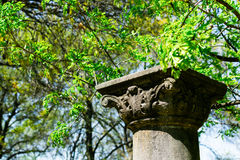 Garden Pillar Royalty Free Stock Image