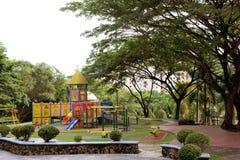 Garden Playground Stock Photo