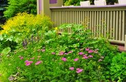 Garden plot Stock Image