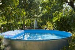 Garden pool Stock Image