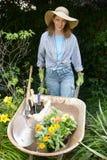 Garden portraits stock photography