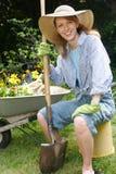Garden portraits Stock Photo