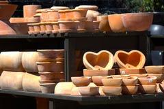 Garden Pottery Stock Photos