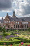 Garden of the Prinsenhof in Groningen Stock Photo