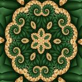 Garden quilt Stock Image