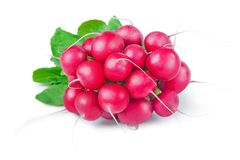 Garden radish Stock Photos