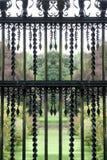 Garden railing 2 stock images