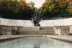 Garden of Remembrance, Dublin. Garden of remembrance at Parnell Sq E, Dublin during Autumn/Fall. 27 Oct 2016 Royalty Free Stock Photos