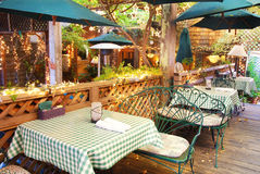 Garden Restaurant Stock Photography