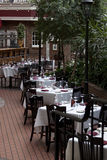 Garden restaurant Stock Photography