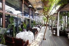 Garden restaurant Royalty Free Stock Photos