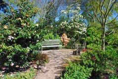 Garden retreat Royalty Free Stock Image