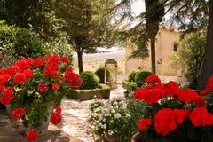 Garden of Rey Moorish. In Ronda (Spain Royalty Free Stock Photo