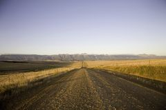 The Garden Road. Fields and agriculture on the incredible Garden Road in South Africa Stock Images