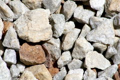 Garden rocks Stock Photography