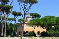 Garden in Rome, Italy Stock Photography