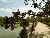 Garden of Royal Palace of Aranjuez. (Spain Stock Images