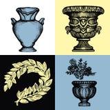 Garden's vase Stock Image