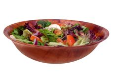 Garden salad Royalty Free Stock Images