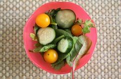 Garden salad. In a bowl Stock Photography
