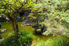Garden in Sam Poh Tong Royalty Free Stock Images
