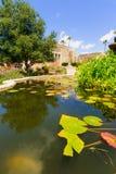 Garden in San Juan Capistrano Royalty Free Stock Image