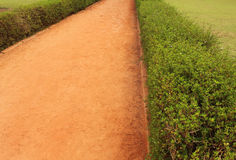 Garden sand path royalty free stock photo