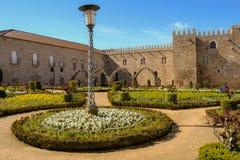 Garden of Santa Barbarain Braga Royalty Free Stock Image