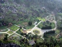 Garden in Sapa (Vietnam). Big garden in Sapa´s City, North of Vietnam Stock Photography