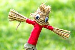 Garden Scarecrow in the  Garden Stock Photos