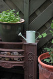 Garden Scene Royalty Free Stock Images