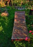 Garden-scene Royalty Free Stock Photography