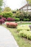 Garden scenery Royalty Free Stock Photo