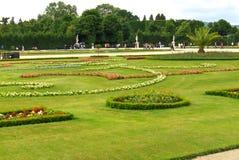 Garden in Schönbrunn Palace Royalty Free Stock Images