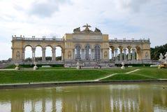 In the garden of Schönbrunn palace of Vienna Stock Photos